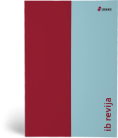 Naslovnica publikacije IB revija