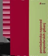 Naslovnica publikacije Pomladanska napoved gospodarskih gibanj
