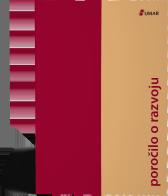 Naslovnica publikacije Poročilo o razvoju
